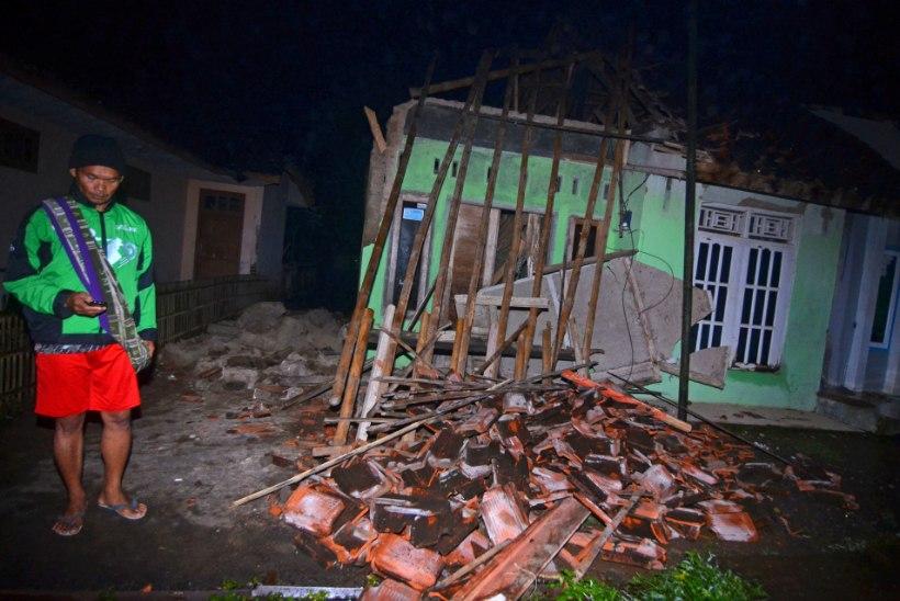 FOTOD | Tugev maavärin raputas maailma suurima elanike arvuga saart
