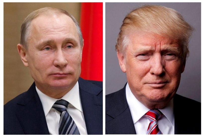 Putin tänas Trumpi terrorirünnaku ärahoidmise eest
