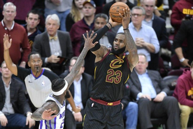 Kui teised vannuvad ajahambale alla, kehastub LeBron James müüdimurdjaks