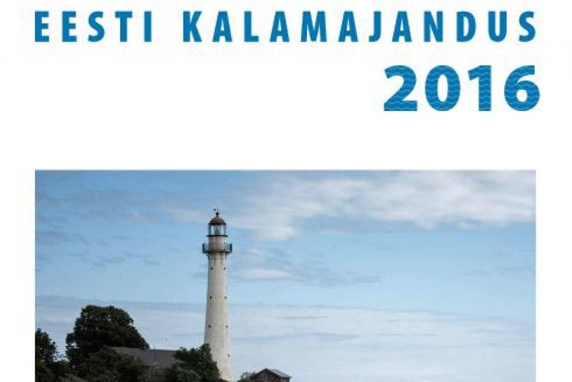 """Ilmus aastaraamat """"Eesti kalamajandus 2016"""""""