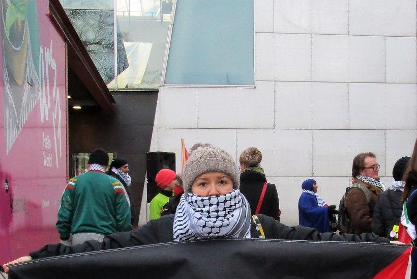 USA vetostas Jeruusalemma resolutsiooni, palestiinlaste meeleavaldused jätkuvad