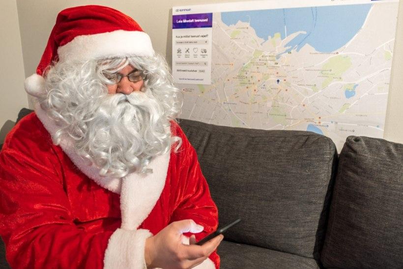 Jõuluvana saab mugavalt tellida ka internetist