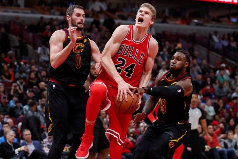 VIDEO | Chicago Bullsi kummaline võiduseeria jätkus, Markkanen sai terveks