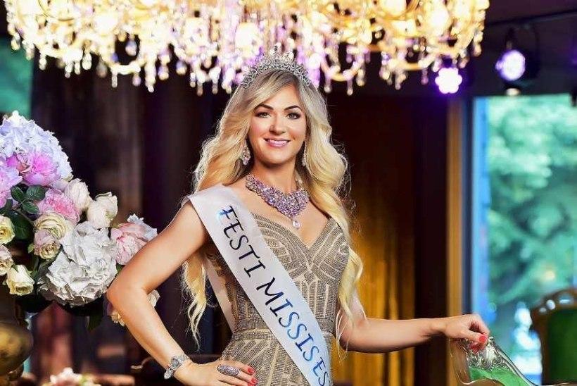Missis Estonia 2017 Viktoria Borgmann sõidab täna Eestit esindama Mrs. Globe iludusvõistlusele