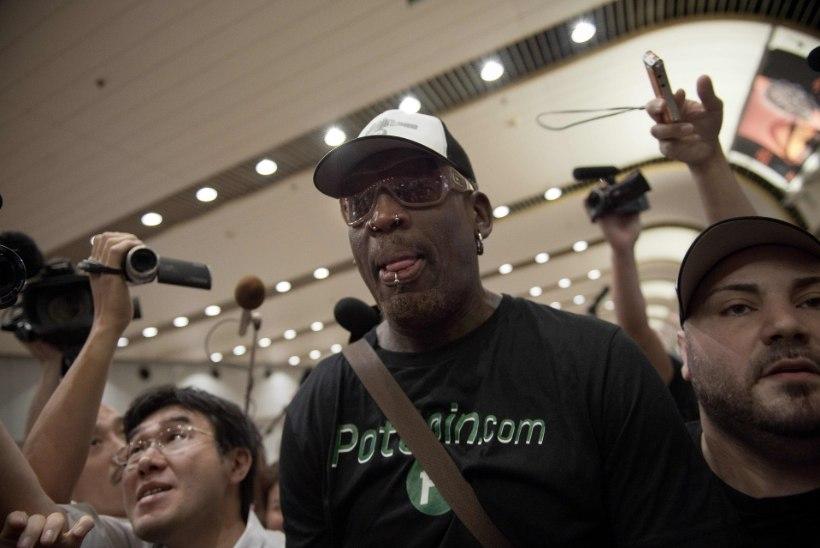 Dennis Rodman Kim Jong-uni karaokeõhtust: pits viina ja lõõritama