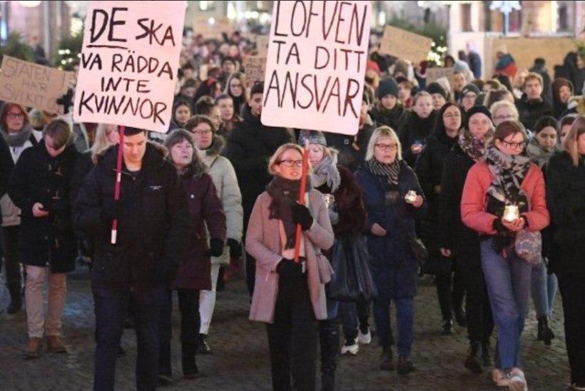 Rootsis protestisid sajad inimesed grupivägistajate vabakslaskmise vastu