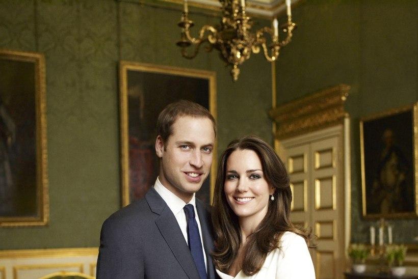 Printsi pruut kannab kihlusfotol 63 000eurost kleiti