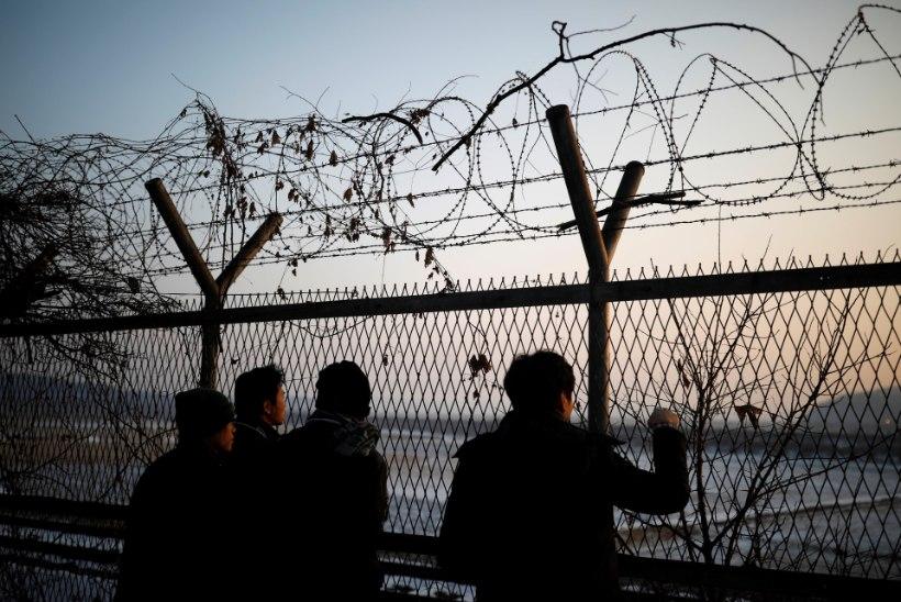 SUTS JA VÄLJAS: järgmine Põhja-Korea sõdur põgenes üle piiri