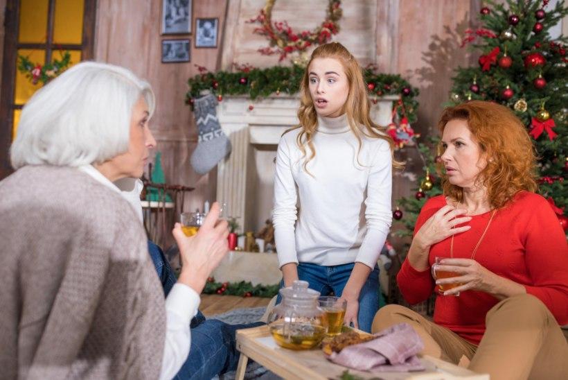 Vanad ja noored ühises jõululauas: kuidas vältida tülisid?