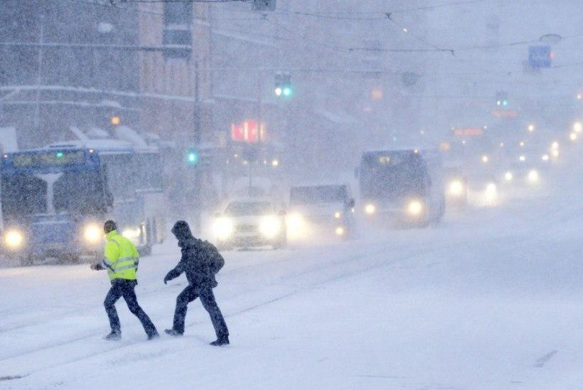 Soome on tulemas metsik lumetorm