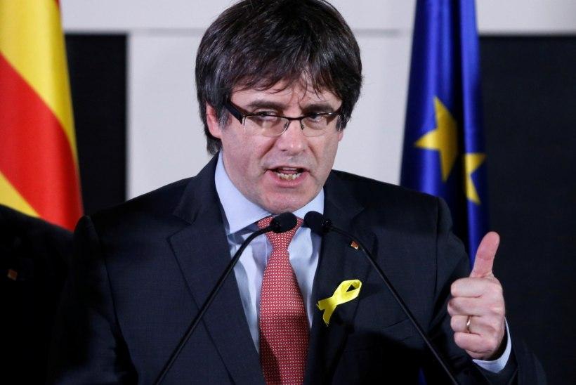 """Puigdemont: """"Katalaanid andsid Rajoyle kõrvakiilu."""""""