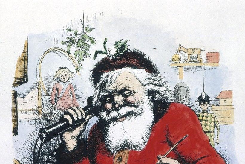 Miks on jõuluvana kuub punane?