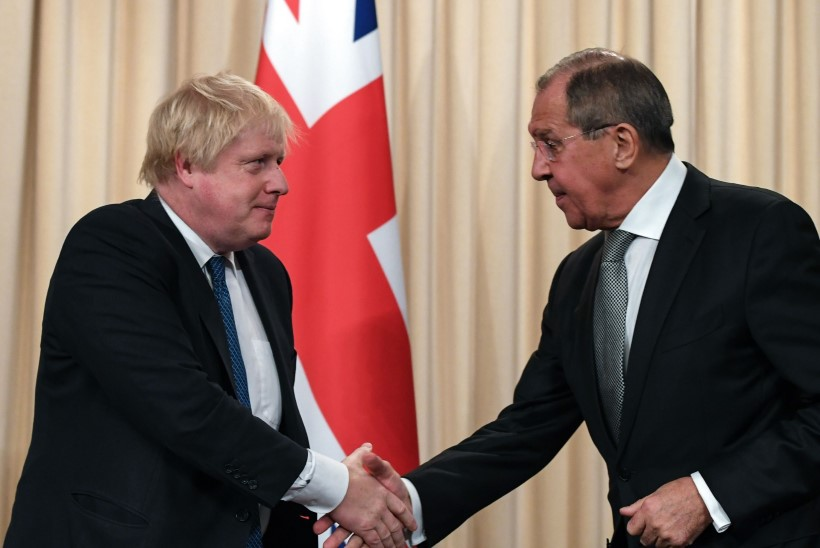 Sergei Lavrov võttis Boris Johnsoni jahedalt vastu