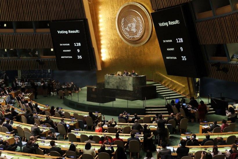 Reinsalu ja Paet taunivad Eesti otsust hääletada ÜROs Trumpi vastu, Oviir pareerib
