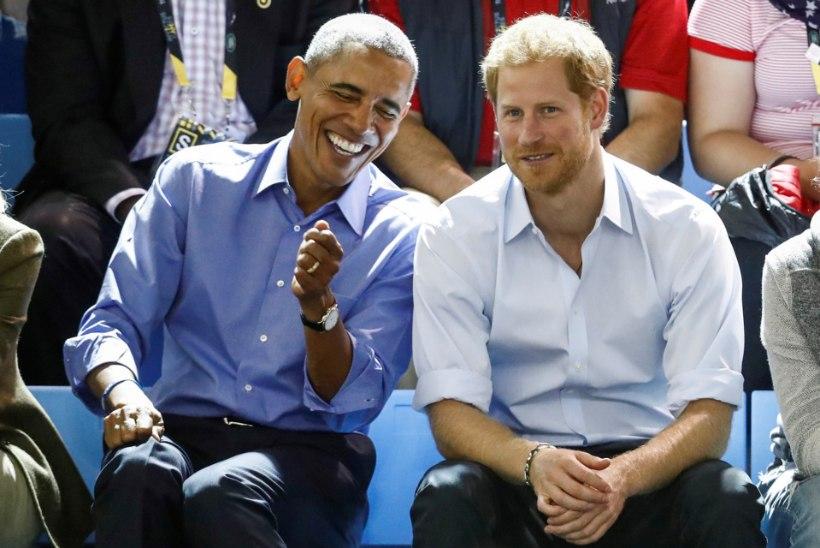 Leht: Briti valitsus anub, et prints Obamat pulma ei kutsuks