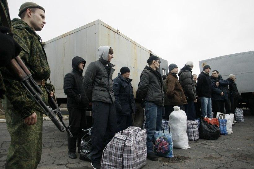Ukraina vahetab separatistidega vange