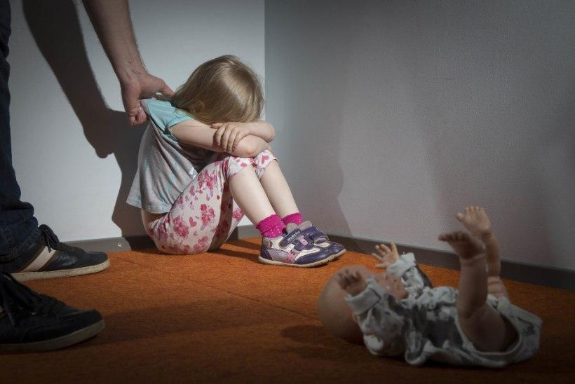 Kõrges palavikus laps pidi vägivaldse joodik-isa tõttu veetma jõulud koos emaga turvakodus