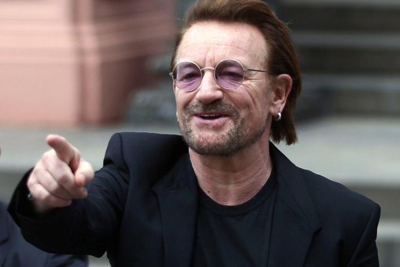 U2 rokkar Bono oli surmasuus