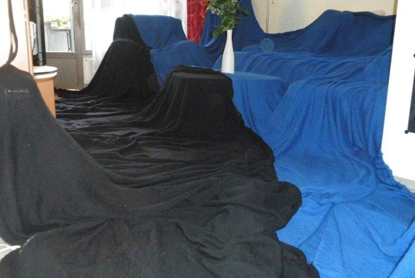 b917514b67c Eesti mehe käsitsi kootud hiigelsuur Eesti lipp leidis koha muuseumis