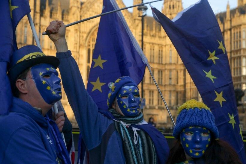 Suurbritannia liigub kindlalt Euroopa Liidust lahkumise suunas