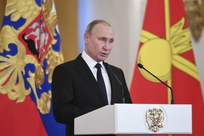 Putin: bandiidid tuleb likvideerida kohapeal