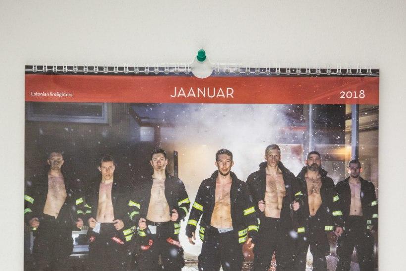 Päästjate tulikuum kalender müüdi loetud päevadega läbi