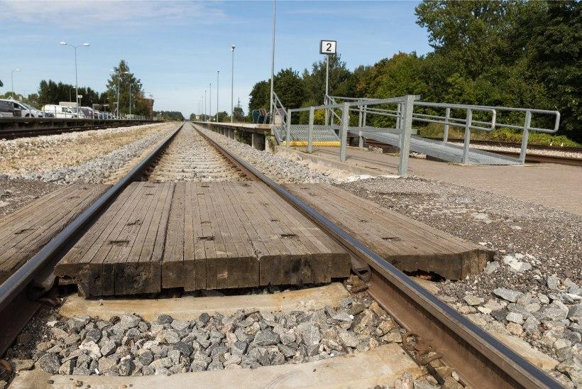 Eesti kõige tihedamalt kasutatav raudteelõik muutus ohutumaks ja kiiremaks