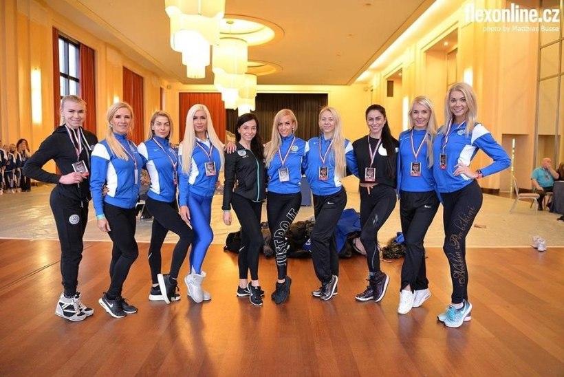 VÄGEVAD NAISED! Eesti tõusis MMil maailma viiendaks fitnessiriigiks