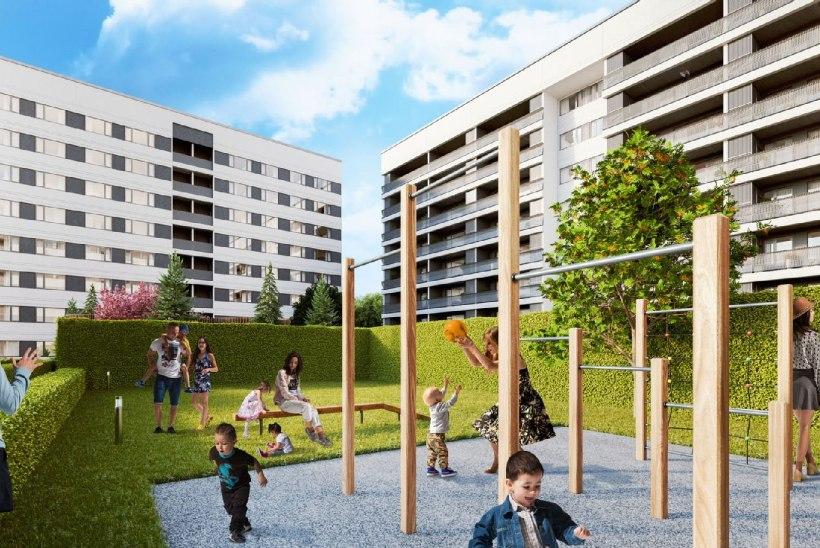YIT Ehitus ehitab Lasnamäele kolm kortermaja