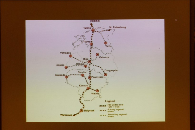 Raudteetrassi Rail Baltic ehituse ettevalmistus käib täie hooga