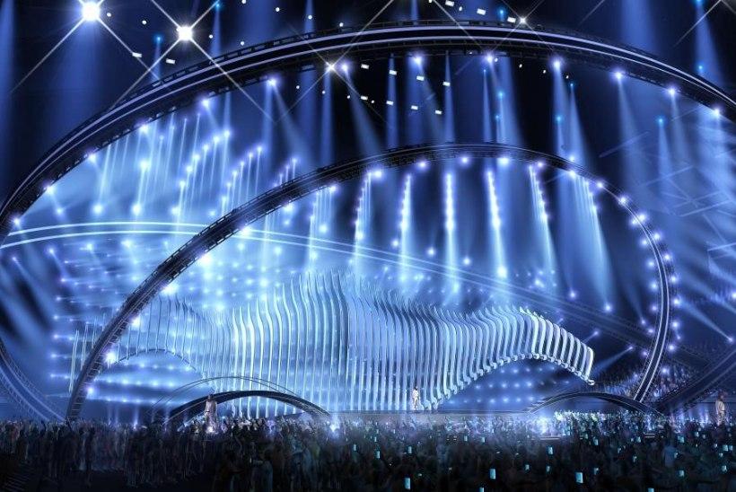 PIILU LAVALE: avaldati 2018. aasta Eurovisioni lavakujundus