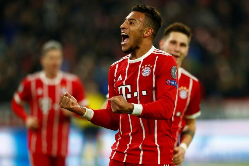 Müncheni Bayern näitas Pariisi Saint-Germainile koha kätte, Madridi Atletico langes konkurentsist