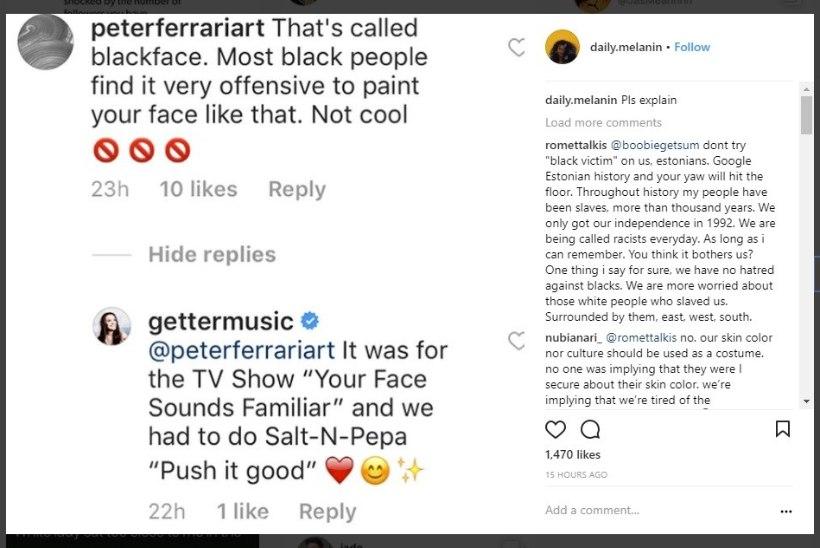 Getter Jaanit tabasid pärast näosaate finaali rassismisüüdistused!