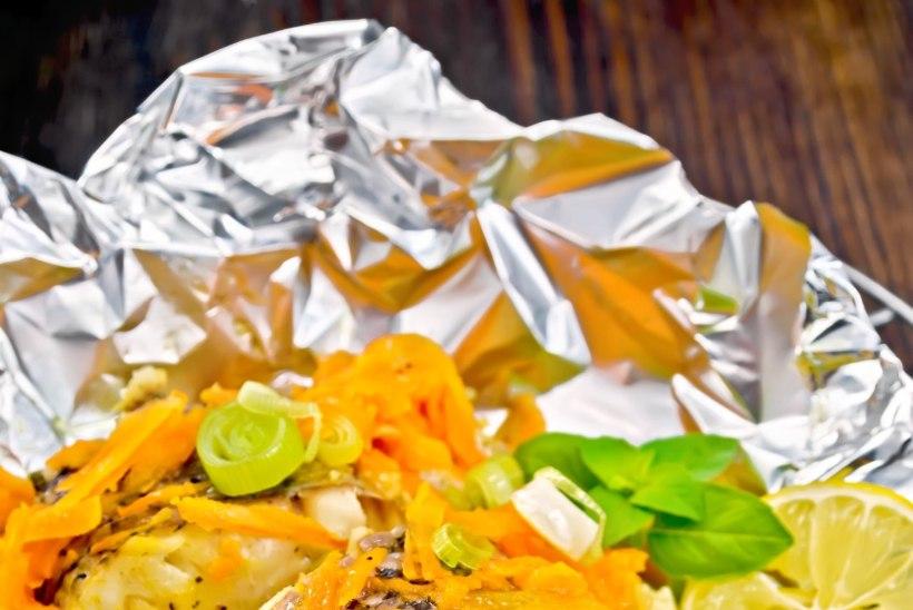 Ettevaatust! Fooliumis toidu küpsetamine võib tervist kahjustada