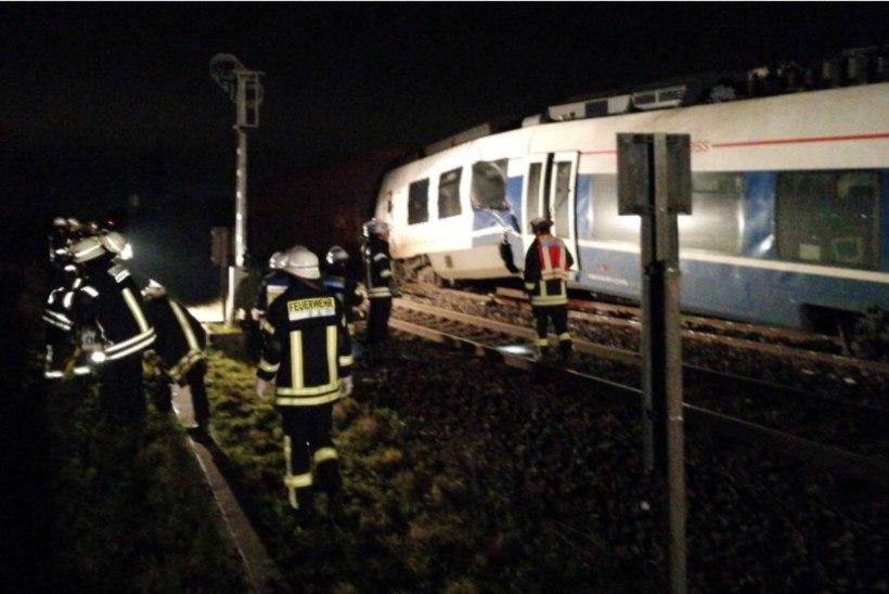 Düsseldorfi lähistel toimus rongiõnnetus, mitukümmend inimest sai viga