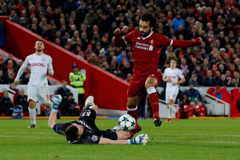 VIDEO | Liverpool purustas Moskva Spartaki, Dortmund lõpetas alagrupi võiduta