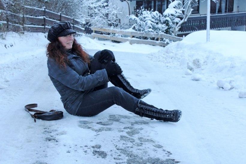 Meeldetuletus: talvel pane kukkudes esmalt haiget saanud kohale külma peale