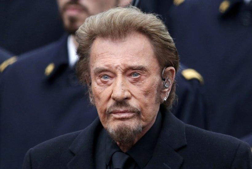 Suri Prantsusmaa suurim rokkstaar Johnny Hallyday
