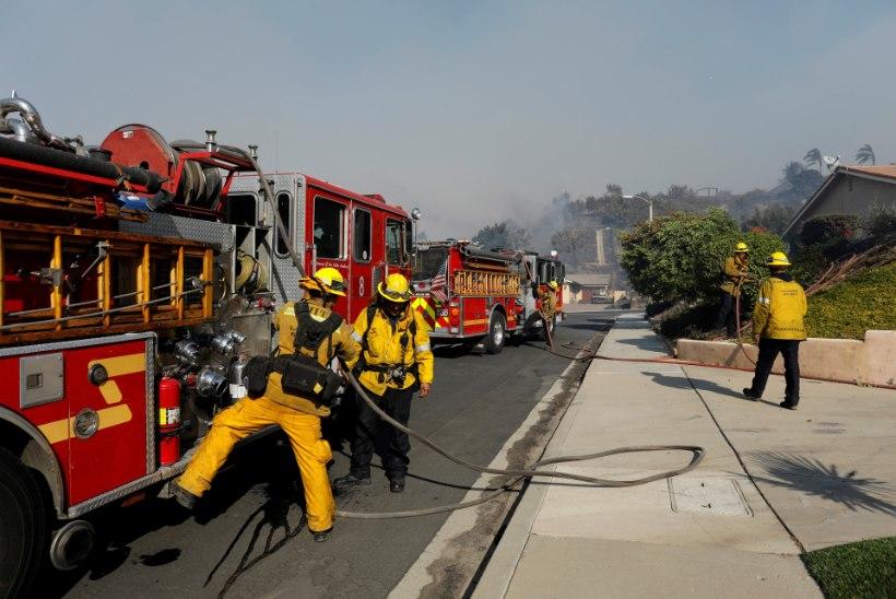 FOTOD | Iga 15 minutiga hävib California põlengutes Aegna-suurune maa-ala