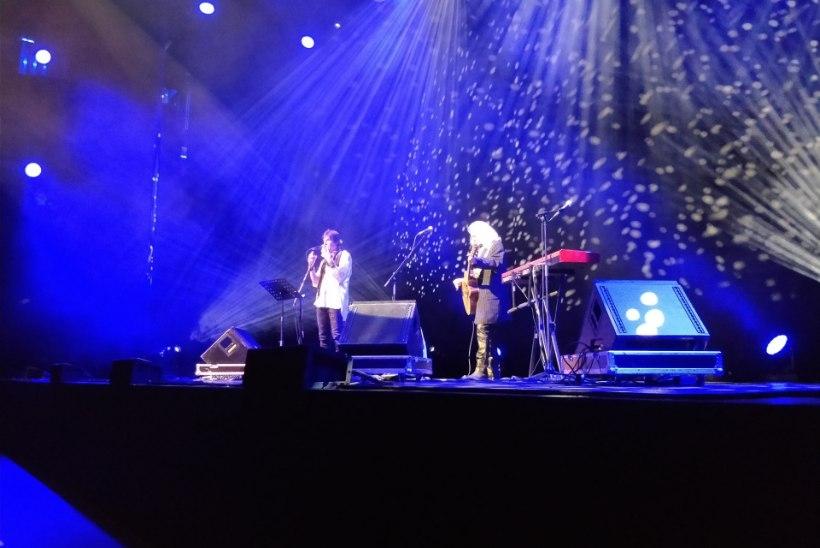 FOTOD   Vaata, kui tühjaks jäi saal Ronn Mossi kontserdi ajal