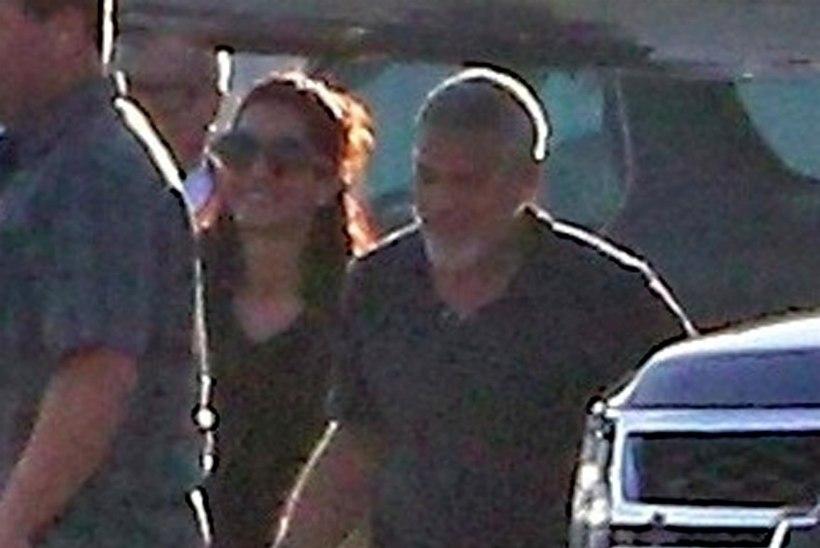 George Clooney kaksikud jäid esmakordselt kaamera ette