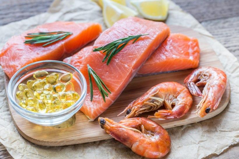 D-vitamiinipuudust leevendavad toit ja toidulisandid käsikäes