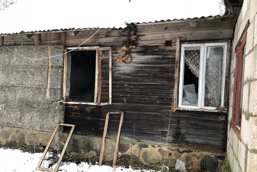 FOTOD | Juba teine tulesurm: Viljandimaal põles mees majja sisse