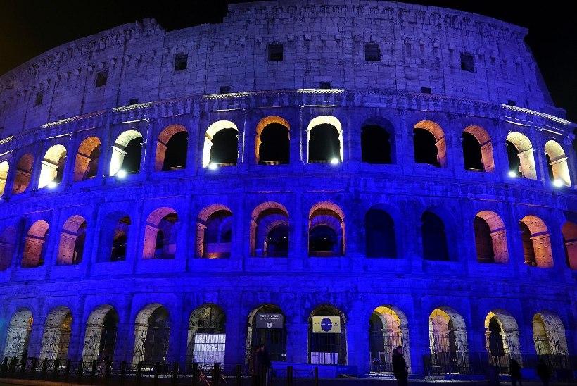 Kas maailmakuulsad ehitised saavad 24. veebruaril selga sinimustvalge kuue?