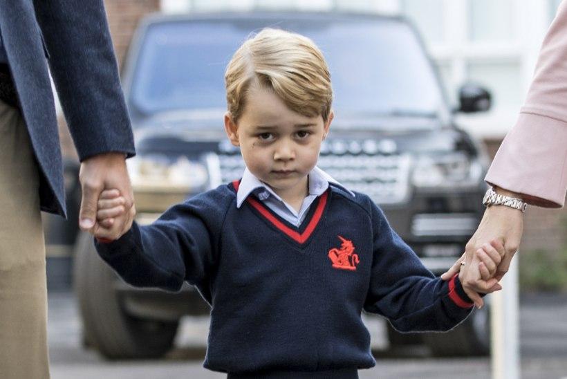 Prints George mängis jõulunäidendis üllatavat rolli
