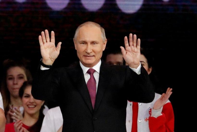 """PUTINI VALIMISLOOSUNG: """"Venemaa on vaenlaste rõngas"""""""