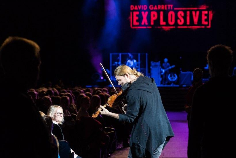GALERII | Klassikalise muusika rokkstaar David Garrett esines esmakordselt Eestis
