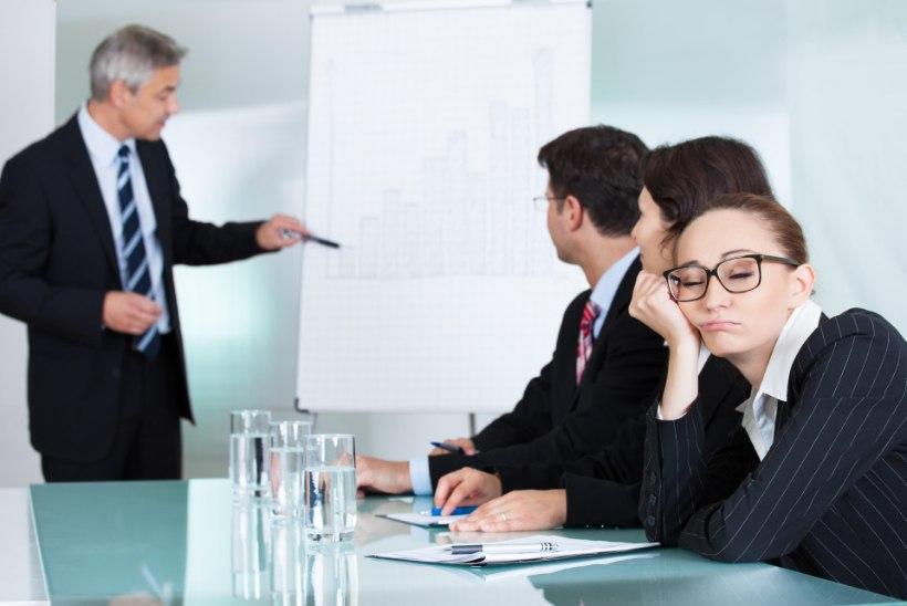 Mida rohkem koosolekuid, seda kriitilisemalt töötajad neisse suhtuvad