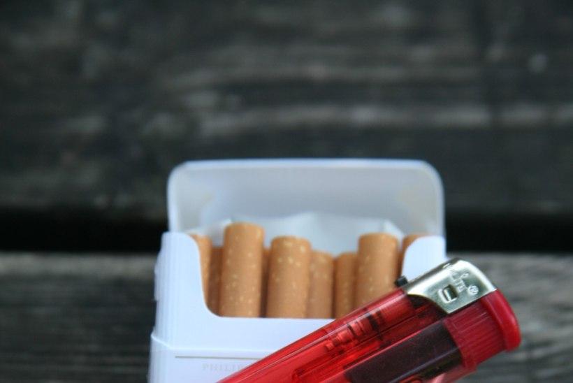 Aktsiisitõstmine ei pidurdanud suitsetamist