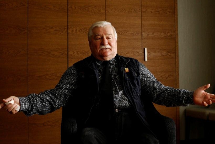 Poola vabaduseikoon Lech Walesa võitleb endiselt minevikuvarjudega